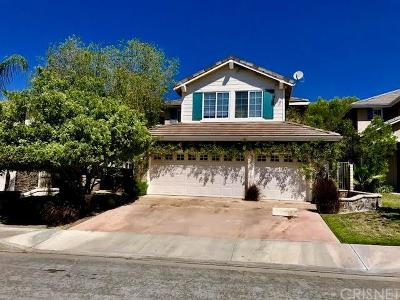 Stevenson Ranch Single Family Home For Sale: 25507 Hardy Place