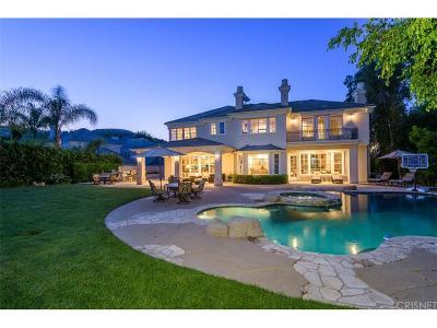 Calabasas Single Family Home For Sale: 24846 Paseo Del Rancho