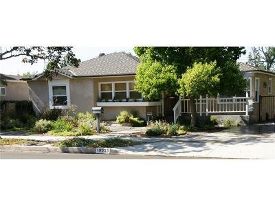 Tarzana Single Family Home For Sale: 19035 Calvert Street