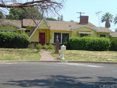 Northridge Single Family Home For Sale: 18315 Citronia Street