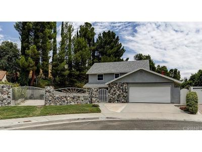 Canyon Country Single Family Home For Sale: 16501 Goodvale Road