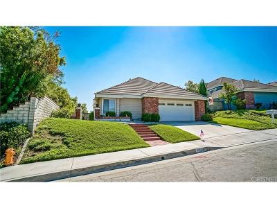 Valencia Single Family Home For Sale: 26378 Woodlark Lane