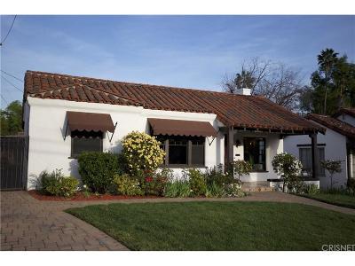 Pasadena Single Family Home For Sale: 1722 North Holliston Avenue