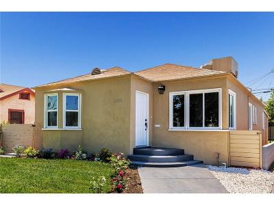Los Angeles Single Family Home For Sale: 3955 3rd Avenue