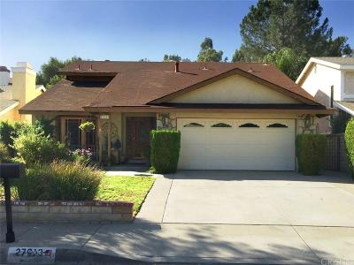Saugus Single Family Home For Sale: 27613 Hyssop Lane