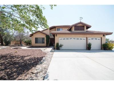 Palmdale Single Family Home For Sale: 37437 Tye Place