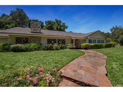 Hidden Hills Single Family Home For Sale: 24563 John Colter Road