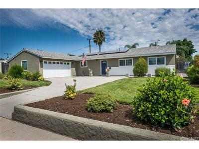 Simi Valley Single Family Home For Sale: 1735 Ballard Street