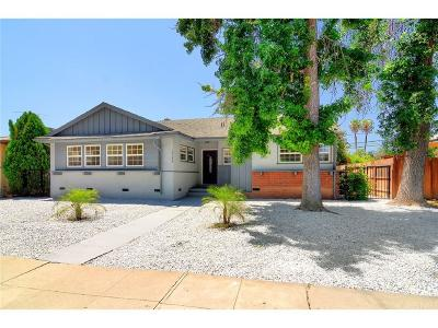 Tarzana Single Family Home For Sale: 19644 Victory Boulevard