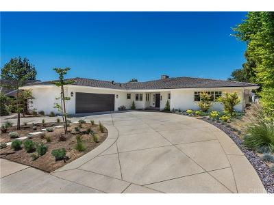 Encino Single Family Home For Sale: 16341 Meadowridge Road