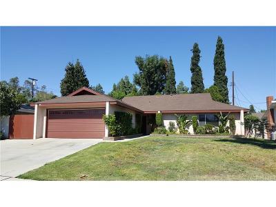 Northridge Single Family Home For Sale: 16941 Itasca Street