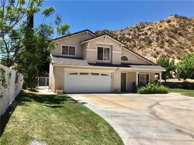 Canyon Country Single Family Home For Sale: 30555 Jasmine Valley Drive