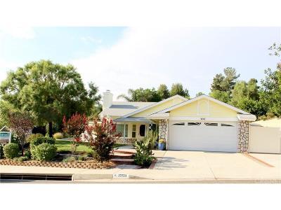 Saugus Single Family Home For Sale: 22531 Paragon Drive