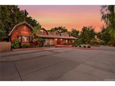 Calabasas Single Family Home For Sale: 2470 Stokes Canyon Road