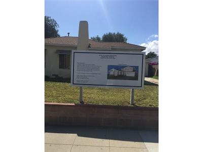 Burbank Single Family Home For Sale: 433 North Parish Place