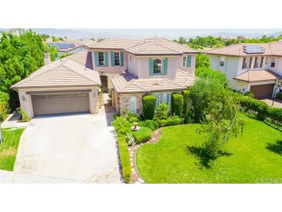 Stevenson Ranch Single Family Home For Sale: 26845 Alcott Court