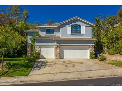 Valencia Single Family Home For Sale: 27303 Blueridge Drive