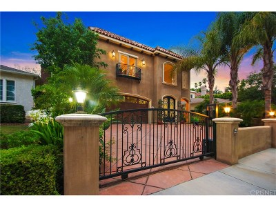 Sherman Oaks Single Family Home For Sale: 14520 Greenleaf Street
