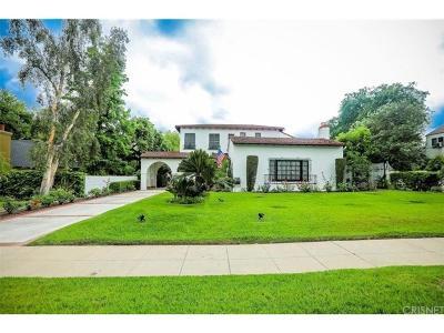Pasadena Single Family Home For Sale: 2400 East Orange Grove Boulevard