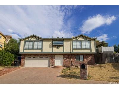 Chatsworth Single Family Home For Sale: 11491 Aucas Drive