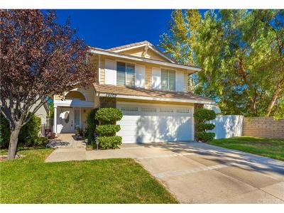 Saugus Single Family Home For Sale: 28002 Newfield Court