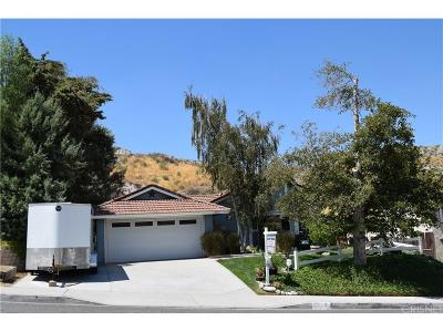 Canyon Country Single Family Home For Sale: 15243 Poppy Meadow
