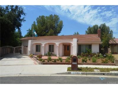 Topanga Single Family Home For Sale: 21332 Bellini Drive