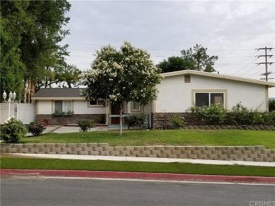 Saugus Single Family Home For Sale: 22656 Decoro Drive