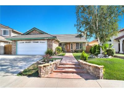 Saugus Single Family Home For Sale: 22510 Cardiff Drive