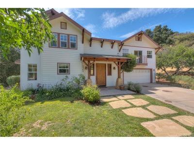 Topanga Single Family Home For Sale: 2365 Topanga Skyline Drive