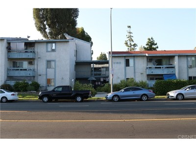 Canoga Park Condo/Townhouse For Sale: 21801 Roscoe #338