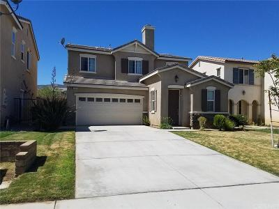 Palmdale Single Family Home For Sale: 2536 Cassia Drive