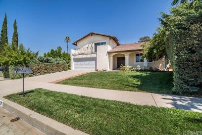 Chatsworth Single Family Home For Sale: 20821 Horace Street