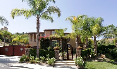 Calabasas Single Family Home For Sale: 26535 Alsace Drive
