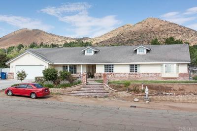 Acton Single Family Home For Sale: 33516 Santiago Road