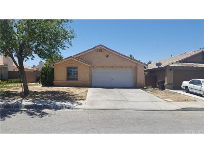 Lancaster Single Family Home For Sale: 1640 Silvia Avenue