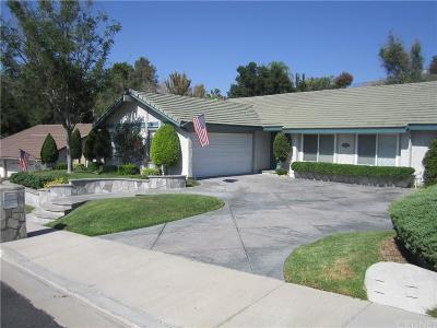 Valencia Single Family Home For Sale: 25365 Cariz Drive