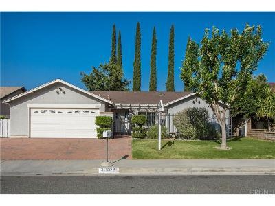 Valencia Single Family Home For Sale: 26927 Cuatro Milpas Street