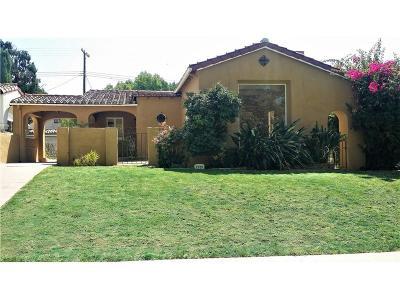 Glendale Single Family Home For Sale: 1232 Highland Avenue