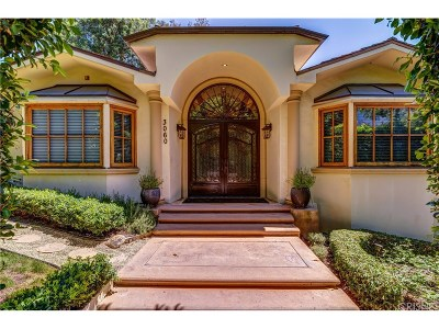 Los Angeles Single Family Home For Sale: 3060 Roscomare Road