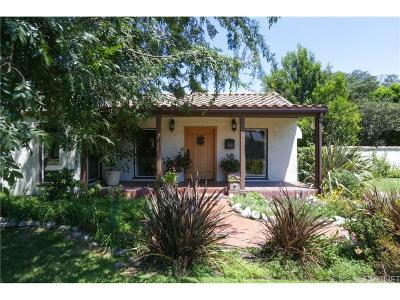 Toluca Lake Single Family Home For Sale: 11113 Hortense Street