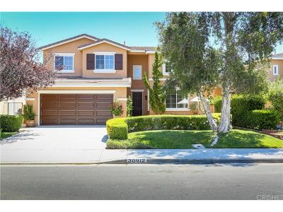 Castaic Single Family Home For Sale: 30412 Servilla Place