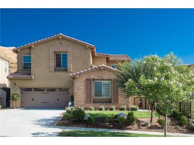 Valencia Single Family Home For Sale: 24915 Shadow Ridge Court