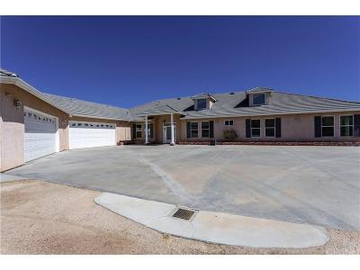 Acton Single Family Home For Sale: 34428 Richter Lane