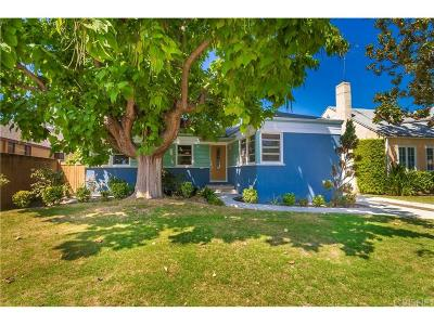 Burbank Single Family Home For Sale: 431 South Griffith Park Drive