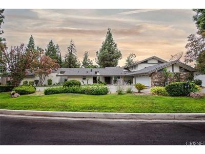 Northridge Single Family Home For Sale: 9715 Tunney Avenue