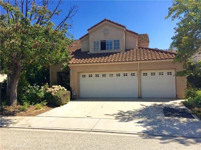 Moorpark Single Family Home For Sale: 11892 Maple Crest Street