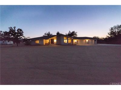 Palmdale Single Family Home For Sale: 40855 27th Street West