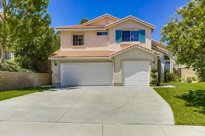 Canyon Country Single Family Home For Sale: 26507 Canyon Terrace Way