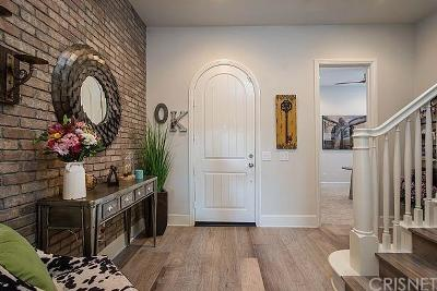 Saugus Single Family Home For Sale: 27643 Camellia Drive